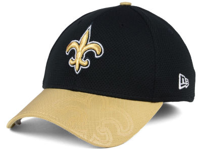 New Orleans Saints New Era 2016 Official NFL Sideline 39THIRTY Cap