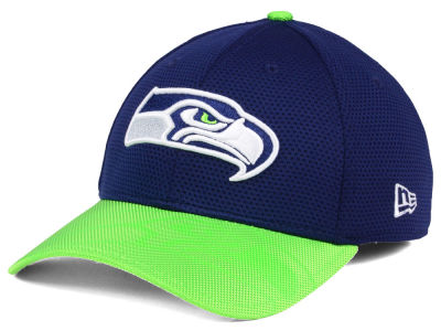 8794caf8735 Seattle Seahawks New Era 2016 Official NFL Sideline 39THIRTY Cap