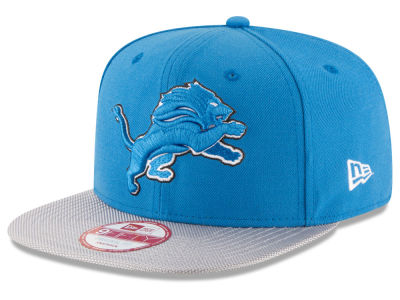 Detroit Lions New Era 2016 Official NFL Sideline 9FIFTY Original Fit Cap
