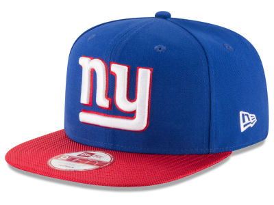 New York Giants New Era 2016 Official NFL Sideline 9FIFTY Original Fit Cap