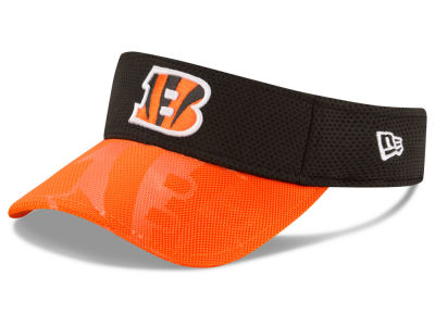 Cincinnati Bengals New Era 2016 Official NFL Sideline Visor