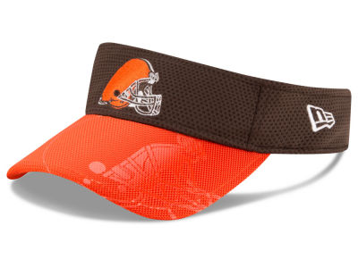 Cleveland Browns New Era 2016 Official NFL Sideline Visor