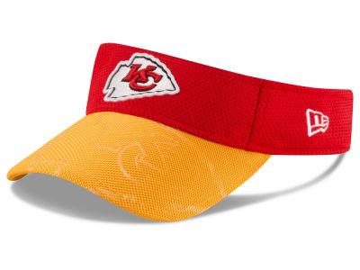 Kansas City Chiefs New Era 2016 Official NFL Sideline Visor