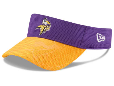 Minnesota Vikings New Era 2016 Official NFL Sideline Visor