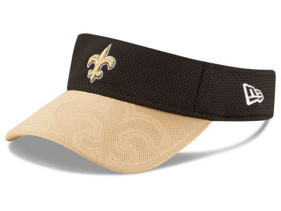 New Orleans Saints New Era 2016 Official NFL Sideline Visor