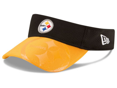 Pittsburgh Steelers New Era 2016 Official NFL Sideline Visor