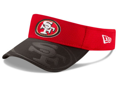 San Francisco 49ers New Era 2016 Official NFL Sideline Visor