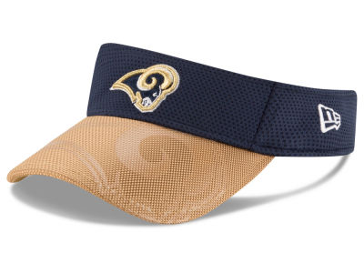 Los Angeles Rams New Era 2016 Official NFL Sideline Visor
