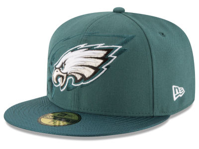 Philadelphia Eagles New Era 2016 Official NFL Sideline 59FIFTY Cap