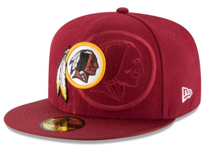 Washington Redskins New Era 2016 Official NFL Sideline 59FIFTY Cap