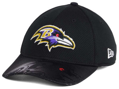Baltimore Ravens New Era 2016 Kids Official NFL Sideline 39THIRTY Cap