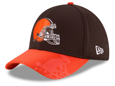 Cleveland Browns New Era 2016 Kids Official NFL Sideline 39THIRTY Cap