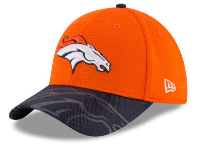 Denver Broncos New Era 2016 Kids Official NFL Sideline 39THIRTY Cap