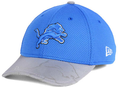 Detroit Lions New Era 2016 Kids Official NFL Sideline 39THIRTY Cap