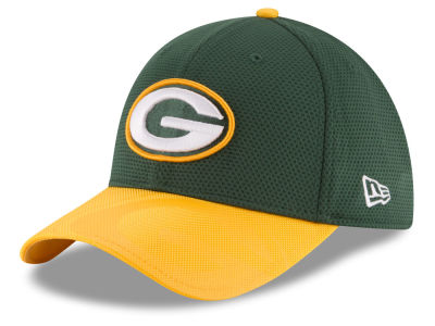 Green Bay Packers New Era 2016 Kids Official NFL Sideline 39THIRTY Cap