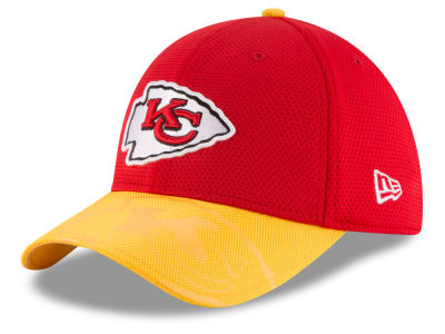 Kansas City Chiefs New Era 2016 Kids Official NFL Sideline 39THIRTY Cap