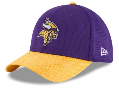 Minnesota Vikings New Era 2016 Kids Official NFL Sideline 39THIRTY Cap