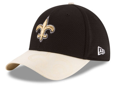 New Orleans Saints New Era 2016 Kids Official NFL Sideline 39THIRTY Cap