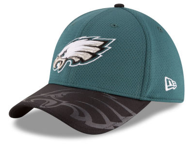 Philadelphia Eagles New Era 2016 Kids Official NFL Sideline 39THIRTY Cap