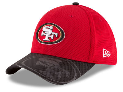 San Francisco 49ers New Era 2016 Kids Official NFL Sideline 39THIRTY Cap
