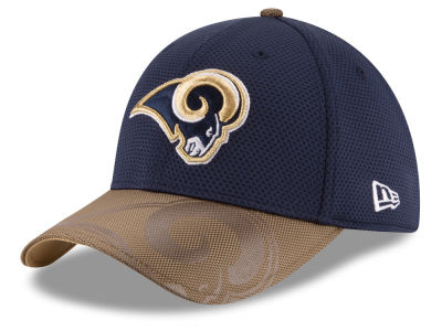 Los Angeles Rams New Era 2016 Kids Official NFL Sideline 39THIRTY Cap