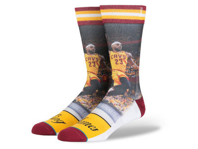 Cleveland Cavaliers LeBron James Stance NBA Future Legends Crew Socks
