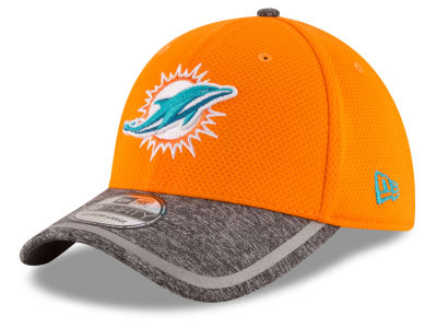 Miami Dolphins New Era 2016 NFL Training Camp Reverse 39THIRTY Cap