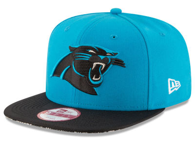 Carolina Panthers New Era  2016 Kids Official NFL Sideline 9FIFTY Original Fit Cap