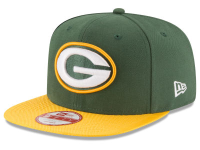 Green Bay Packers New Era  2016 Kids Official NFL Sideline 9FIFTY Original Fit Cap