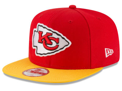 Kansas City Chiefs New Era  2016 Kids Official NFL Sideline 9FIFTY Original Fit Cap