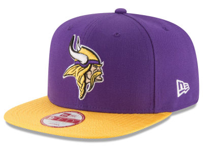 Minnesota Vikings New Era  2016 Kids Official NFL Sideline 9FIFTY Original Fit Cap