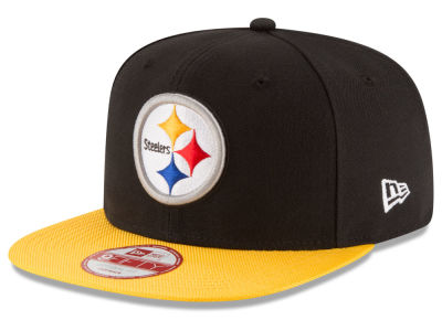Pittsburgh Steelers New Era  2016 Kids Official NFL Sideline 9FIFTY Original Fit Cap