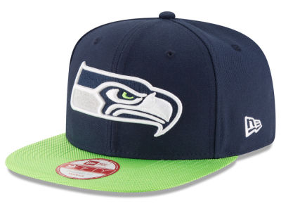 Seattle Seahawks New Era  2016 Kids Official NFL Sideline 9FIFTY Original Fit Cap