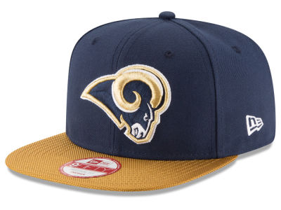 Los Angeles Rams New Era  2016 Kids Official NFL Sideline 9FIFTY Original Fit Cap