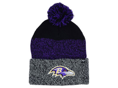 Baltimore Ravens '47 NFL Static Cuff Pom Knit