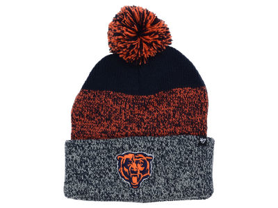 Chicago Bears '47 NFL Static Cuff Pom Knit