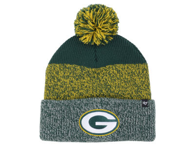 Green Bay Packers '47 NFL Static Cuff Pom Knit