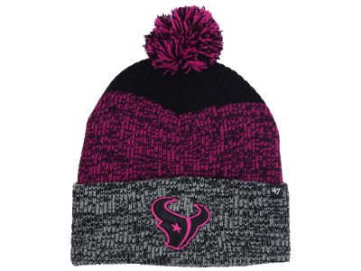 Houston Texans '47 NFL Static Cuff Pom Knit