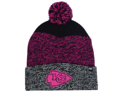 Kansas City Chiefs '47 NFL Static Cuff Pom Knit