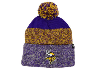 Minnesota Vikings '47 NFL Static Cuff Pom Knit