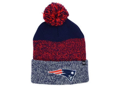 New England Patriots '47 NFL Static Cuff Pom Knit