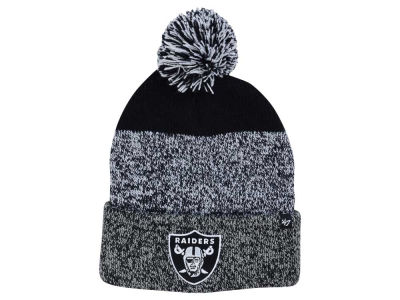 Oakland Raiders '47 NFL Static Cuff Pom Knit
