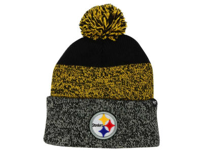 Pittsburgh Steelers '47 NFL Static Cuff Pom Knit