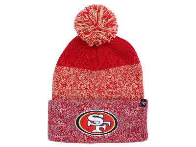 San Francisco 49ers '47 NFL Static Cuff Pom Knit