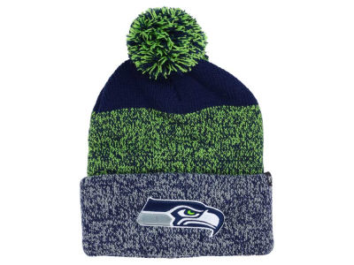 Seattle Seahawks '47 NFL Static Cuff Pom Knit