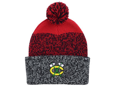 Chicago Blackhawks '47 NHL '47 Static Cuff Knit