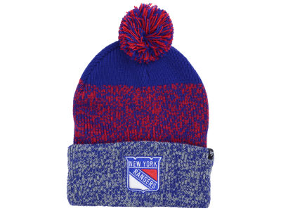 New York Rangers '47 NHL '47 Static Cuff Knit