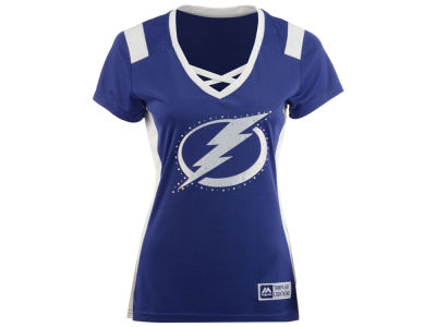 Tampa Bay Lightning Majestic NHL Women's Draft Me T-Shirt