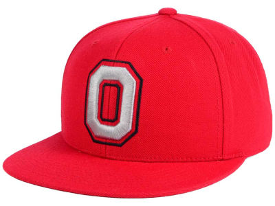 Ohio State Buckeyes J America NCAA Upright O Fitted Cap