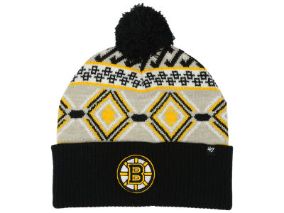 Boston Bruins '47 NHL Navajo Cuff Knit